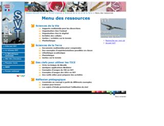 access espace menu des ressources de svt rennes. Black Bedroom Furniture Sets. Home Design Ideas