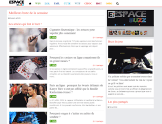 espacebuzz.com screenshot
