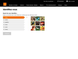 espaceclient.orangecaraibe.com screenshot