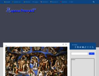 espacefrancais.com screenshot