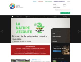 espacepourlavie.ca screenshot