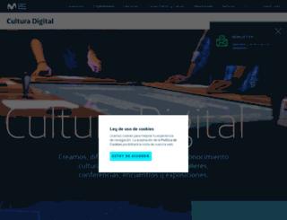espacio.fundaciontelefonica.com.ar screenshot