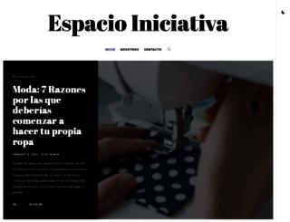 espacioiniciativa.com.ar screenshot