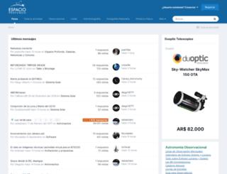 espacioprofundo.com.ar screenshot