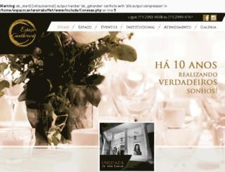 espacocantareirabuffet.com.br screenshot