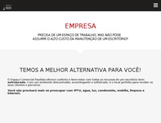 espacocomercialpaulista.com.br screenshot