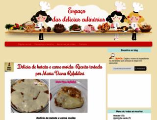 espacodeliciasculinarias.blogspot.com.br screenshot