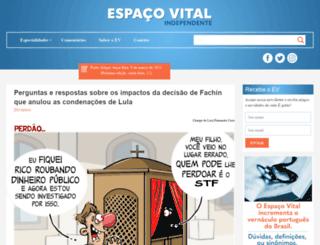 espacovital.com.br screenshot