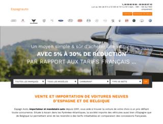 espagnauto.com screenshot
