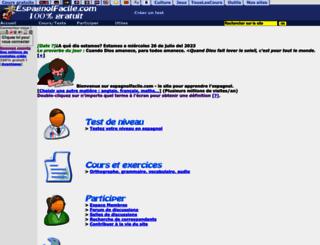 espagnolfacile.com screenshot