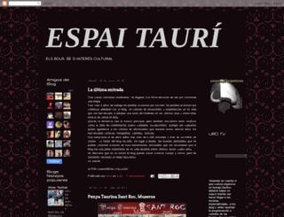 espaitauri.blogspot.com screenshot