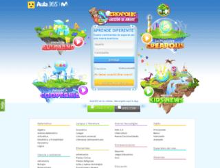 espana.aula365.com screenshot