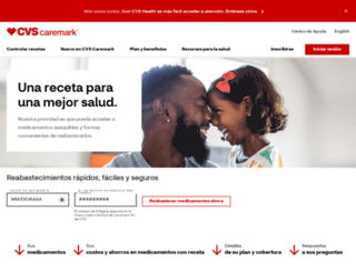 espanol.caremark.com screenshot