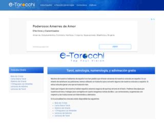 espanol.e-tarocchi.com screenshot