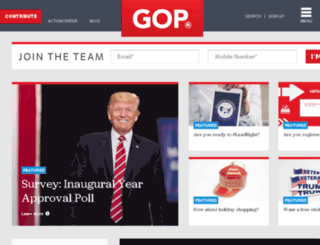 espanol.gop.com screenshot
