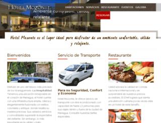 espanol.hotelmozonte.com screenshot