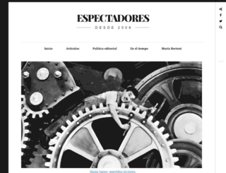 espectadores.wordpress.com screenshot