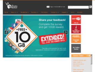 espeed.com.bn screenshot