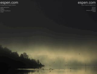espen.com screenshot