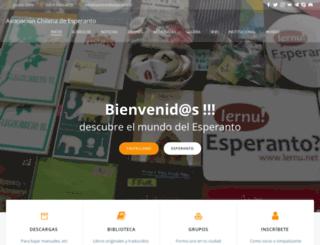 esperanto.cl screenshot