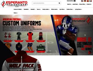 esperantoint.com screenshot