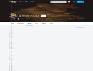 esperanzaproxima.net screenshot