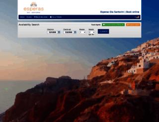 esperas.reserve-online.net screenshot