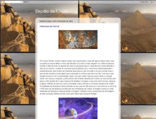 espiaodamente.blogspot.com.br screenshot