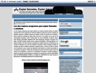 espiar-llamadas-espiar-celulares.blogspot.com screenshot