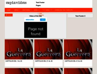espiavideos-laguerrera.blogspot.com screenshot