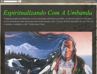 espiritualizandocomaumbanda.blogspot.com.br screenshot