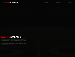 espnevents.com screenshot