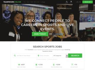espnwideworldofsports.teamworkonline.com screenshot