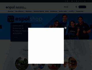 espol.edu.ec screenshot