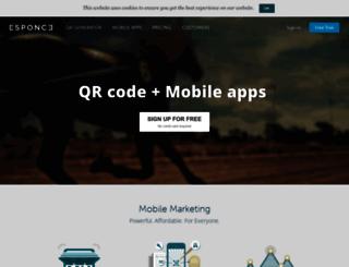 esponce.com screenshot