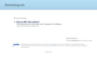 esponjiforme.forumup.es screenshot