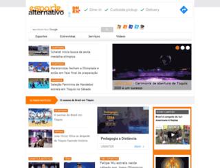 esportealternativo.com.br screenshot
