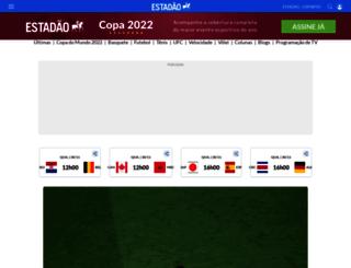 esportes.estadao.com.br screenshot