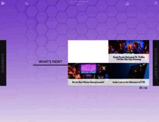 esports.alienwarearena.com screenshot