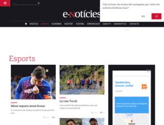 esports.e-noticies.cat screenshot