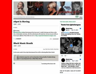 espot.wordpress.com screenshot