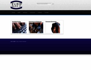 esppconcursos.com.br screenshot
