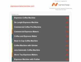 espressomakersreview.com screenshot