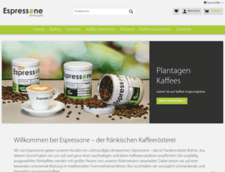 espressone.de screenshot