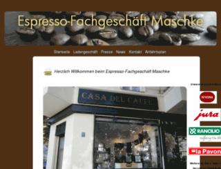 espressopapst.de screenshot