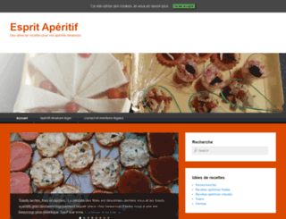 esprit-aperitif.com screenshot