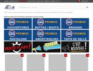 esprit-equitation.com screenshot