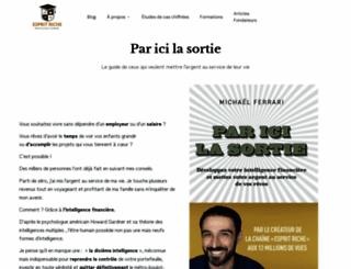 esprit-riche.com screenshot