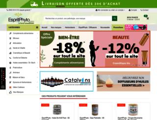 espritphyto.com screenshot