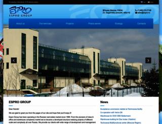 espro.ru screenshot